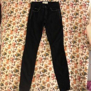 Current Elliot Studded Jeans